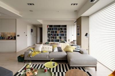 三室两厅温馨北欧风格