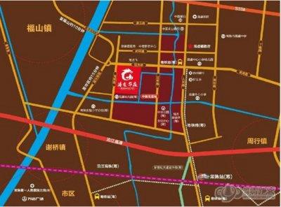 港龙香语华庭的位置图