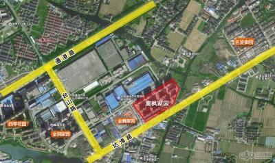 虞枫家园的位置图