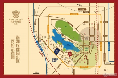 尚湖玫瑰园东区的位置图