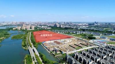 尚湖玫瑰园东区的实景图