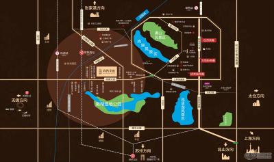 新城尚隽华庭的位置图