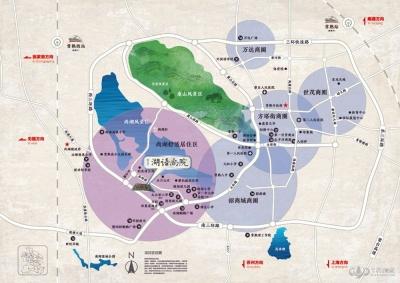 湖语尚院的位置图