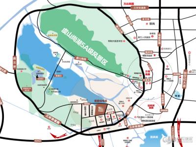 雍澜院的位置图
