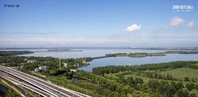 湖畔現代城三期的實景圖