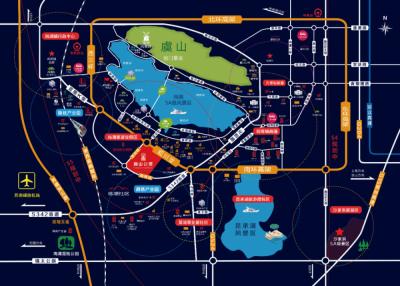 澜山公馆的位置图