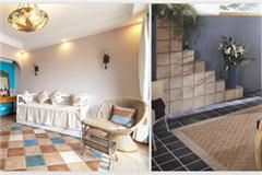 伊派瓷砖彩岩CY仿古砖墙地砖300*300mm卫生间阳台厨房地中海