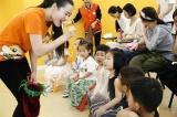 """""""吃像彩虹一样各种颜色的食物"""",安妮花亲子绘本课堂活动圆满结束!"""