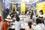 杨梅红国际私立美校驱蚊香包DIY活动圆满结束!