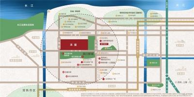 金科源江筑的位置图