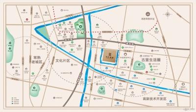 宝龙名仕豪庭的位置图