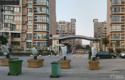 城市花园的效果图
