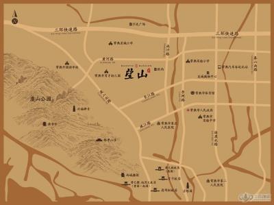 承安·望山居的位置图