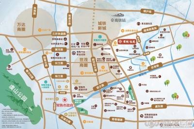 棠悅名筑的位置圖