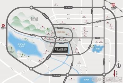 尚璟名筑的位置图
