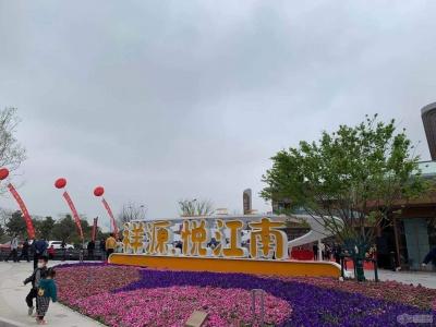 悅江南花園的實景圖