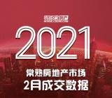 2021常熟房地產市場2月成交數據出爐!
