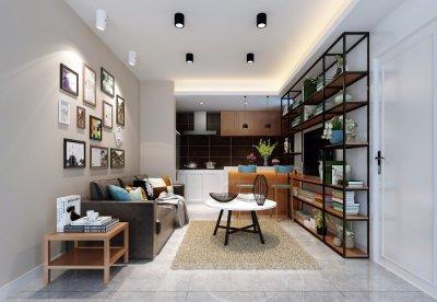 常熟润欣花园现代简约公寓