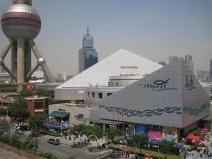上海海洋水族馆+东方明珠外景一日游