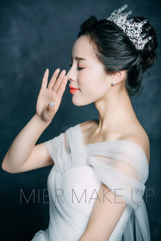 华丽新娘全程跟妆
