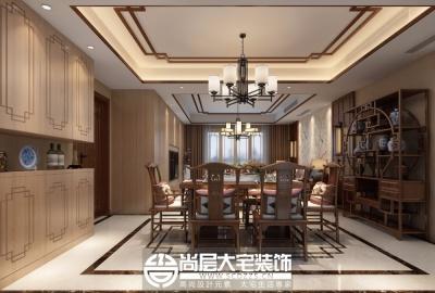 汇金豪苑140平新中式