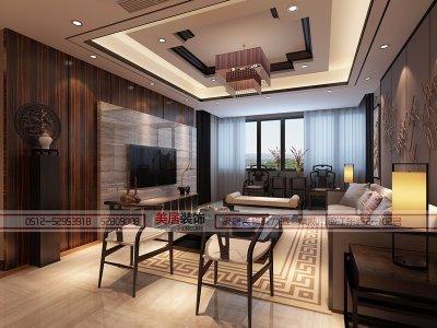 【曲江对雨】——世茂·世纪尚城样板房之新中式