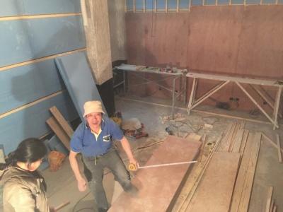 木工吊欧式园顶图片