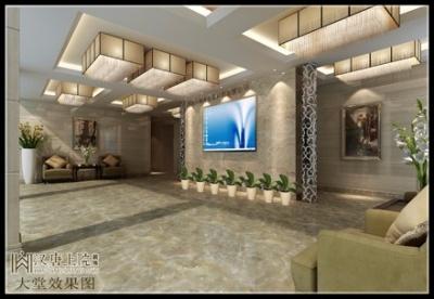 【现代简约】金华市钢海金属材料有限公司办公大楼作品