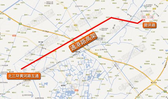 通港路高架,滨江新城,常熟零距离