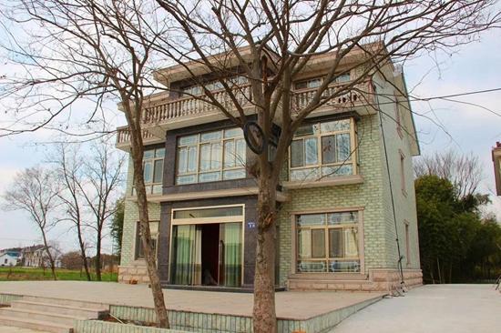 一幢幢欧式别墅建筑风格 高端大气上档次 常福街道 常福街道的自建房
